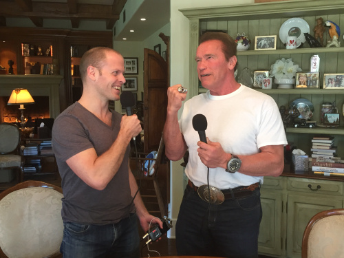 tim ferriss best selling author podcast arnold schwarzenegger