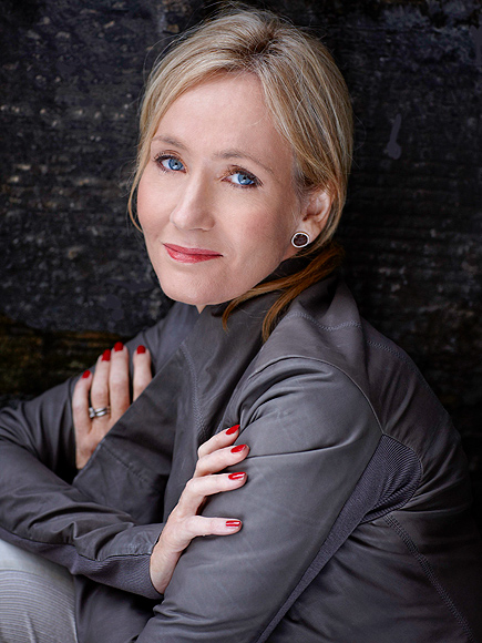 bestselling book author jk rowling