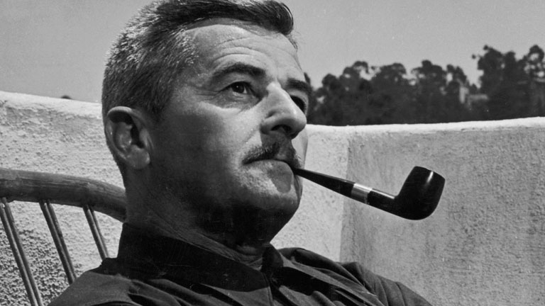 with his writing william faulkner explored universal themes such as